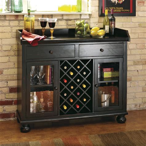 Wine Bar Furniture Howard Miller Cabernet 14 Bottle Wine Bar Wine
