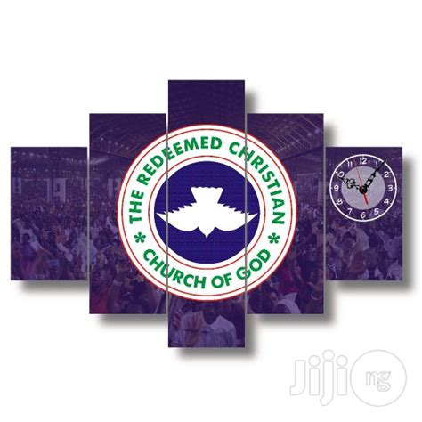 Home Decor Design Wholesale by Rccg Logo Canvas Wall Art Vwoo1 5piece For Sale In