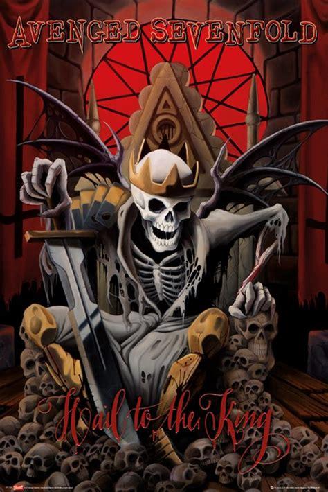 Poster Band Musik Jumbo Avenged Sevenfold A7x Pl12 avenged sevenfold hail to the king poster buy at