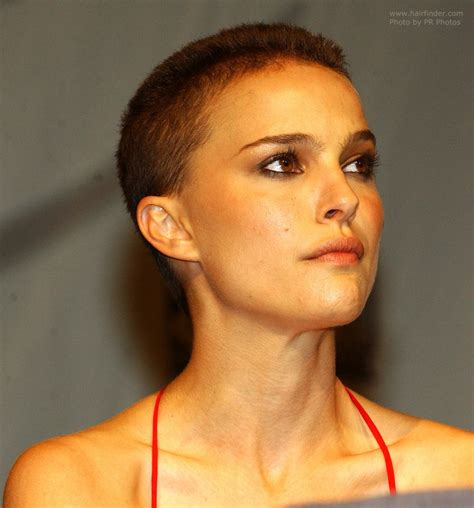 natalie portman with her hair shaved off