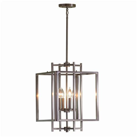 Allen Roth Lighting Fixtures Shop Allen Roth 14 In W Brushed Nickel Standard Pendant Light At Lowes