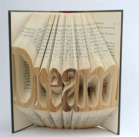 Paper Fold Book - book origami typography the ultimate inspiration bit rebels