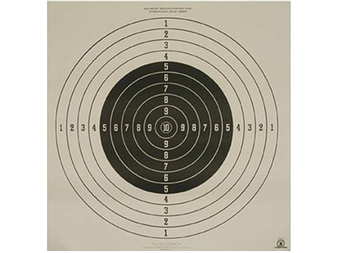printable high power rifle targets 28 rifle targets 100 yards printable free printable