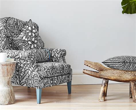 Patterned Chair Black And White Pattern Chair