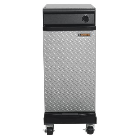 home trash compactor shop gladiator 15 in hammered granite portable trash