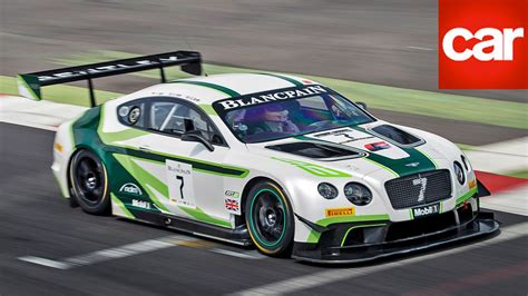 bentley continental gt3 r racecar 2016 bentley continental gt3 review a two tonne gt