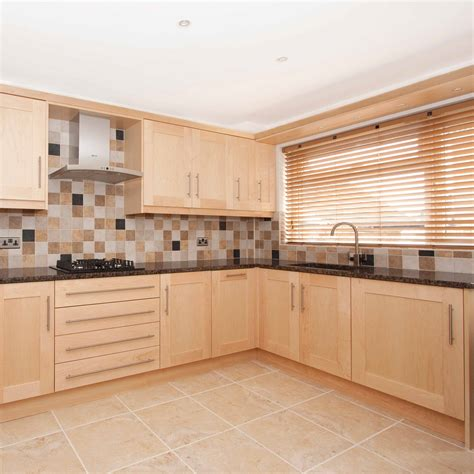 kitchen cabinet cornice saunton natural maple pebble kitchens