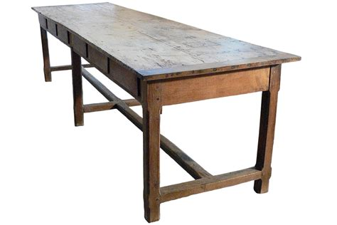 Large Table Long Antique French Farm Table Table Pinterest