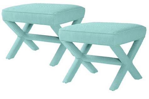 threshold x bench ottoman 93 x stool ottoman safavieh x bench nailhead brown