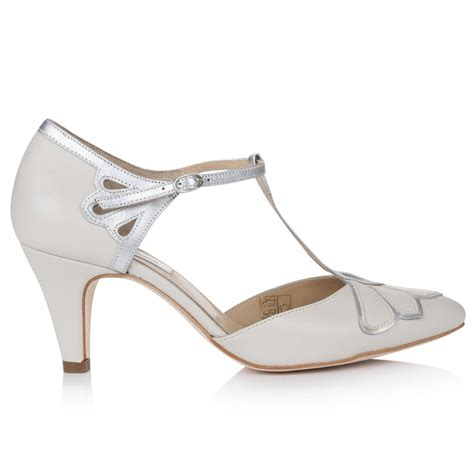 Closed Toe Wedding Shoes by Gardenia Closed Toe Leather Wedding Shoes By