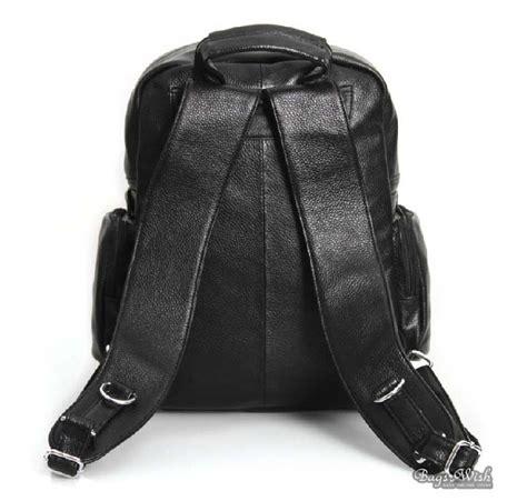 black leather laptop backpack leather satchel bag black 13 3 inch laptop backpack bagswish