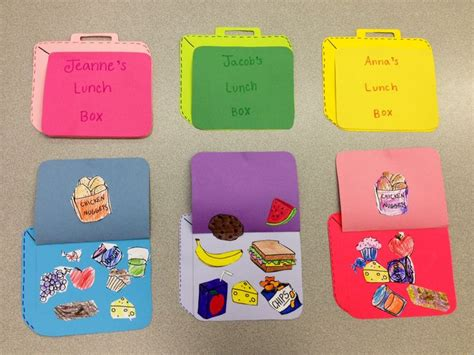 box ideas for preschoolers lunch box craft healthy meals for arts crafts