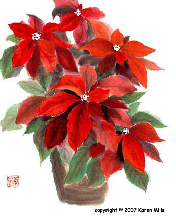 google images poinsettia watercolor poinsettia google search holiday a