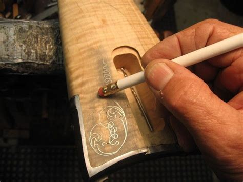 tutorial  silver wire inlay part  wood inlay
