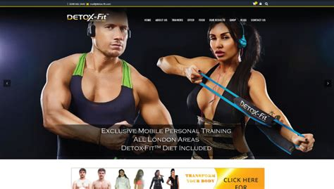 Detox Surry by Detox Fit Webpot Branding Website Design Development