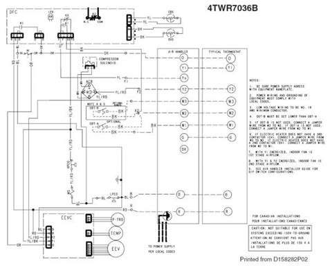 trane heat wiring diagrams wiring between trane xl824 tem6 and xr17 doityourself