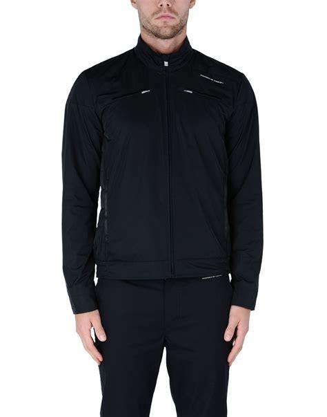 porsche clothing porsche design jacket in black for lyst