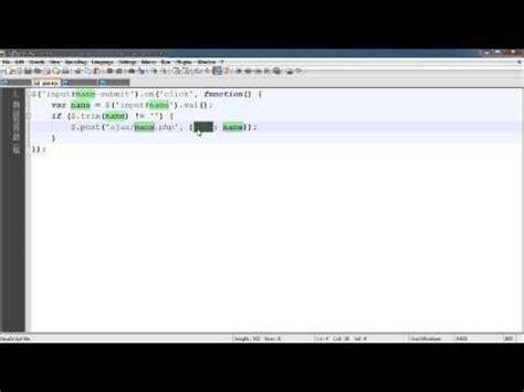 tutorial php get netbeans php jquery tutorial ajax login 9 doovi