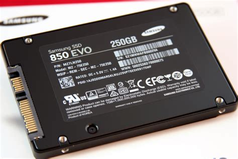 samsung ssd 850 evo 250gb review ubergizmo