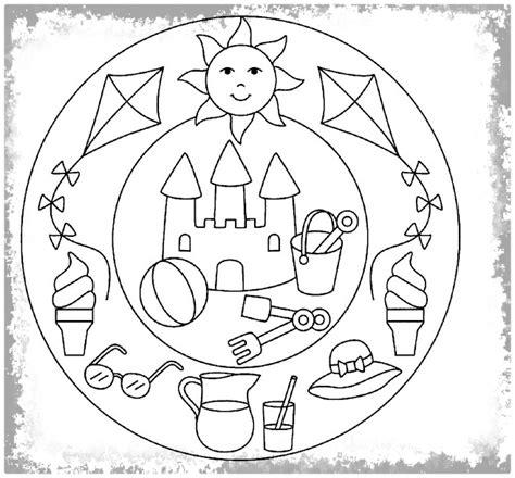 imagenes relajantes infantiles mandalas infantiles para colorear e imprimir archivos