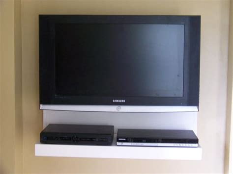 Floating Shelf For Tv Components by Floating Av Component Shelf Lcd Flat Tv Stand In By