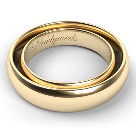 Wedding Bands Engraving Ideas by Etched In Gold Ten Ideas For Engraving S And S
