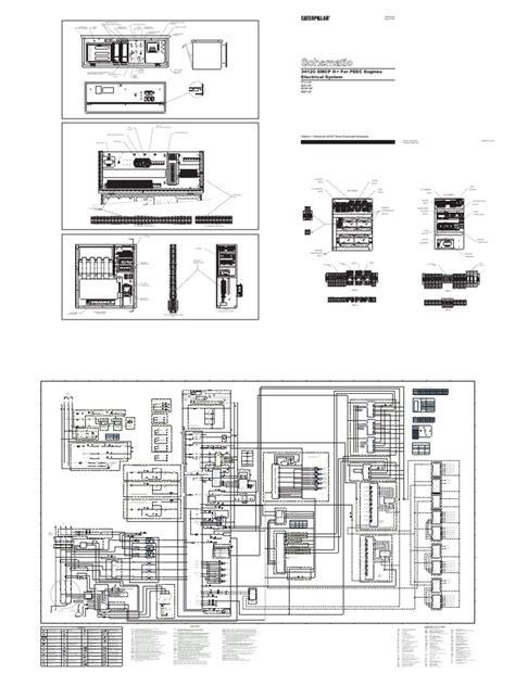 caterpillar emcp 3 wiring diagram belt routing diagrams