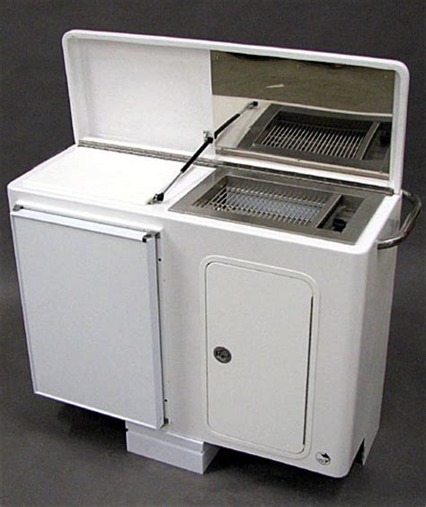 boat storage grill custom boat console includding wet bar gas grill and fridge