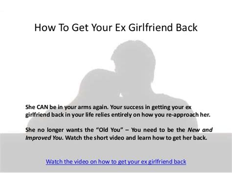 12 Tips On Getting Your Ex by How To Get Your Ex Back