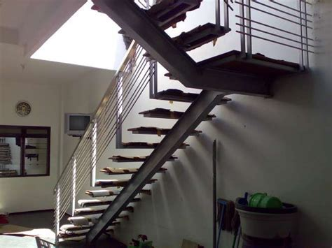 tangga trap baja/ besi wf