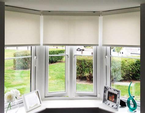 Bow Window Treatments Ideas dj blinds