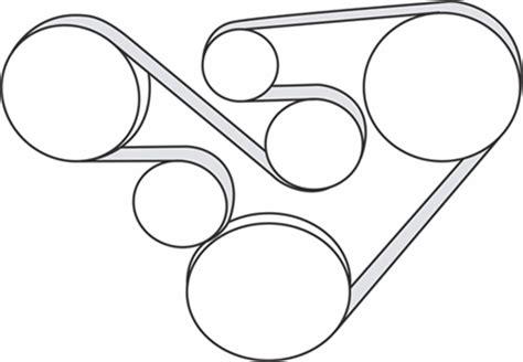 subaru  tribeca   serpentine belt diagram serpentinebelthqcom