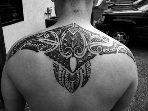tribal back piece tattoos 9 tribal back tattoos for with best designs and ideas