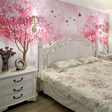 cherry blossom bedroom online buy wholesale cherry blossom wallpaper from china