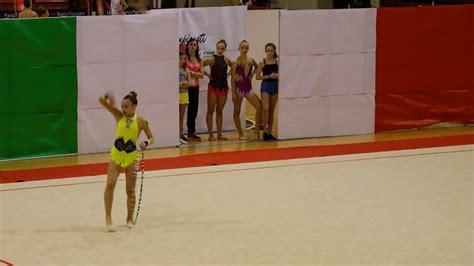 cionato italiano assoluti ginnastica ritmica sofia vittoria speri cionato nazionale uisp