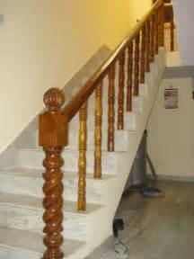 Stair Wood Railing by Brown Belly Wooden Stair Railings In Indl Area Ph 2