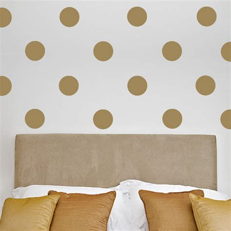 wall stickers dots polka dots wall decal set by alphabet garden designs