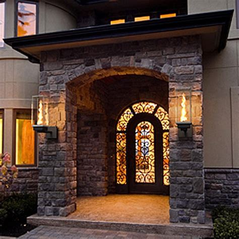 Gas Patio Lights Tempest Outdoor Lighting American Home Fireplace Patio