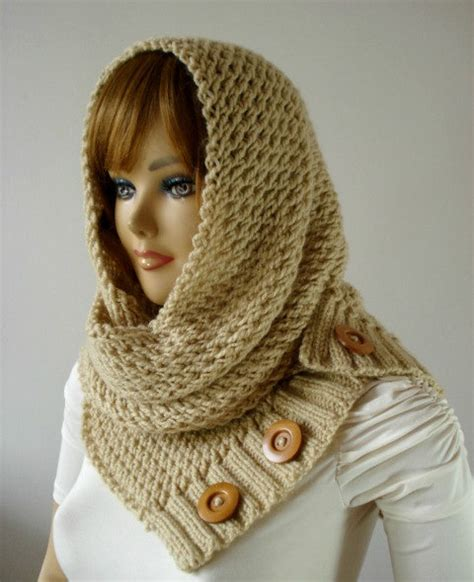 how to knit a hooded scarf knitting pattern hooded cowl scarf loulou scarf cowl
