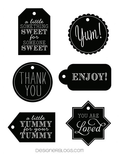 printable message tags best 25 free printable tags ideas on pinterest free