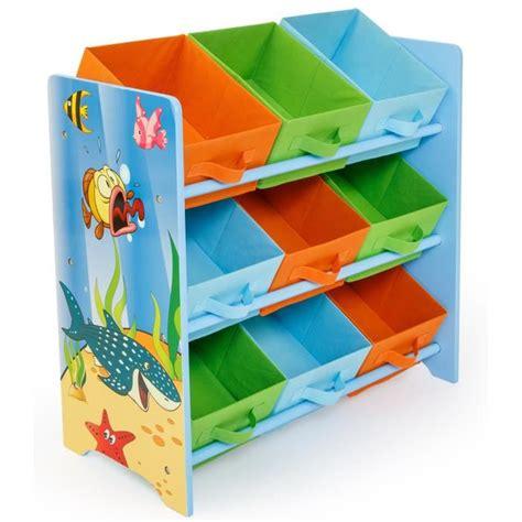 meuble de rangement chambre enfant meuble de rangement pour enfant motif poissons achat