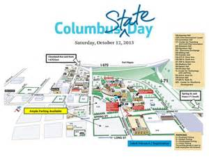 Columbus State Map by Maps Amp Directions Columbus State Community College