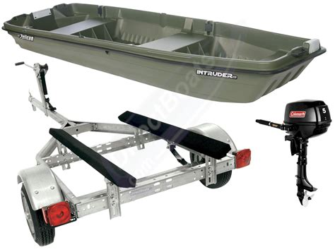 12 foot jon boat max hp intruder 12 bmt package 2