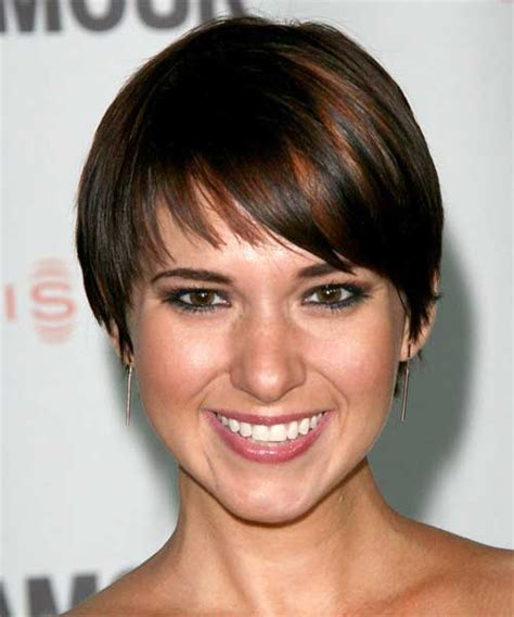 short haircuts for fine dark hair 20 easy short straight hairstyles short hairstyles 2017
