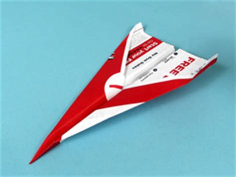 How To Fold A Fast Paper Airplane - how to fold a paper airplane