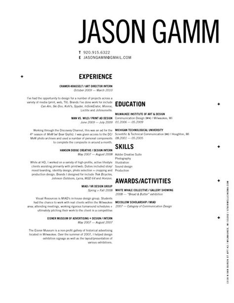 easy creative resume format 34 best images about resumes on resume styles