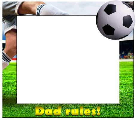 Frame Soccer nos apps templates s day category s day