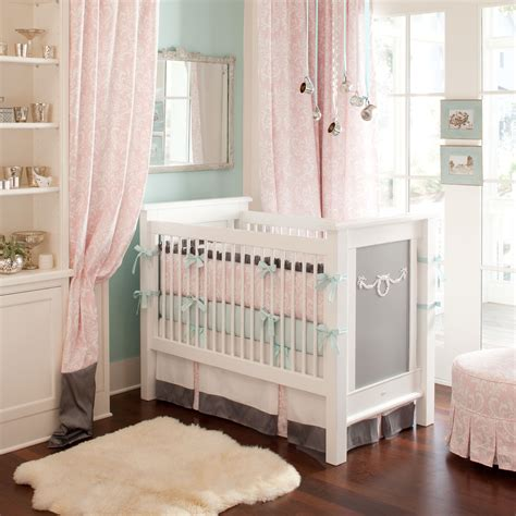 nursery bedding on carousel designs crib