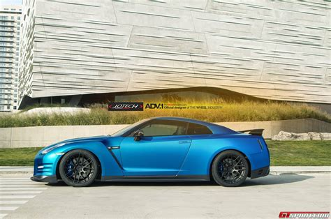 nissan gtr matte blue absolutely wicked matte blue nissan gt r by jotech and adv 1
