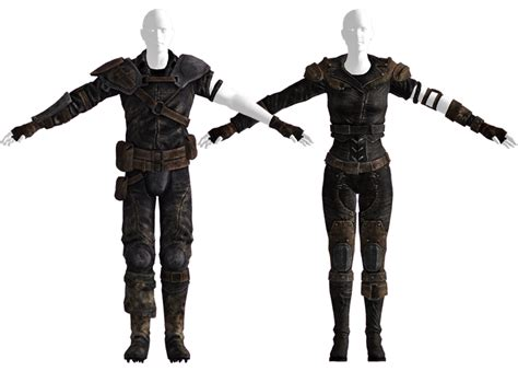 New Leather Gecko Backed Leather Armor Fallout Wiki Fandom Powered